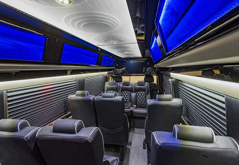 Executive Sprinter for rent in Chicago