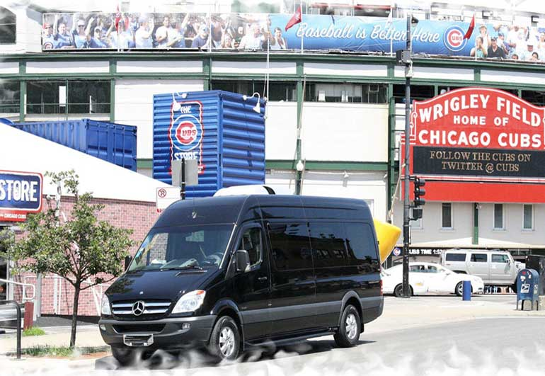 Sprinter in Chicago at Wrigley